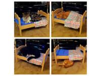 「迷你嬰兒床」爆紅!神人改造成上下舖 一次收納3貓