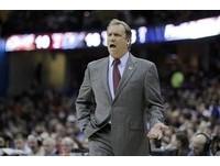 NBA/「任命自己」當總教練 灰狼總裁桑德斯撩落去