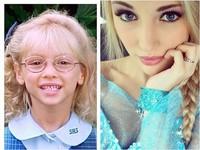 美18歲金髮妹甩塌鼻眼鏡俗樣 如真人《冰雪》艾莎暴紅