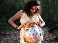 生活童話/孕婦肚皮彩繪 秀出圓肚肚迎接新生命