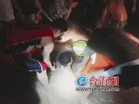 福建男與女友玩埋沙 漲潮淹到胸無法「自拔」險溺斃
