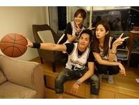 安心亞、莫允雯甜心《妹妹》啦啦隊 人夫藍正龍瘋籃球