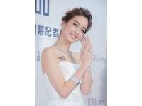 陳庭妮穿白紗演繹幸福新娘 挑鑽戒最在乎車工