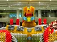 8萬顆氣球打造巨無霸金剛 台灣達人創金氏紀錄《ETtoday 新聞雲》