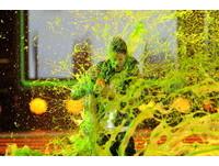 小賈斯汀最受歡迎 領獎遭潑綠色黏液