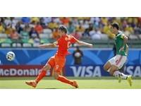 世足賽/荷蘭熄火僅射門2次 半場與墨西哥0比0