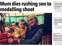 英新手媽媽拿到駕照15天上路 帶兒拍麻豆照命喪車禍