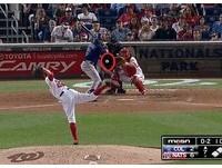 MLB/王建民前隊友伸卡球極犀利 史托倫投破捕手手套