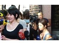 快訊/雞排妹化身記者訪問小S出庭 糗堵錯門撲空瞎忙