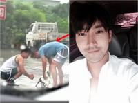 見路邊小狗淋雨 野生SJ始源急停車幫擦乾還打包送醫!