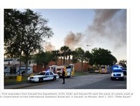 飛機撞超市!美佛州墜機意外釀5傷