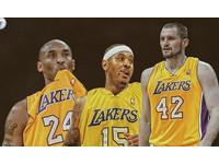 NBA/湖人「夢幻3巨頭」? Kobe、Melo、Love齊聚練球