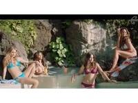 辣模穿比基尼示範 紐航「最美飛安宣導短片」挨轟