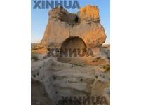 陝西「匈奴故都」統萬城 發現中亞粟特人壁畫
