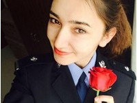 美得像天使!新疆塔吉克族「最美女特警」爆紅