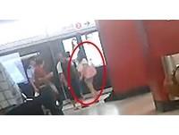 你有老婆了?香港女一秒便小三 地鐵怒打警察男友