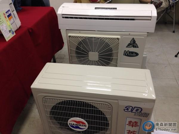 消基會公布市售冷氣調查,結果發現有3成安全性、EER不合規定。