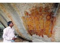 印度萬年壁畫 竟出現外星人和幽浮