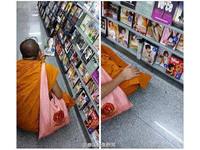 泰國僧侶選購日本A片 「好心人」幫他結帳然後PO網