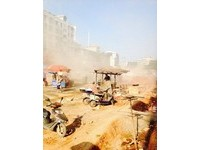 安慶市修路工程超「奇葩」 鼓風機吹滿灰整死鄉親