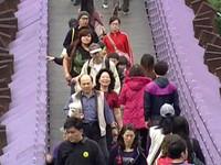遊客過載!限載百人白石湖吊橋無人看管《ETtoday 新聞雲》