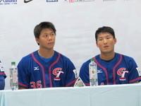 MLB台灣賽/面臨困境 倪福德、林哲瑄:樂觀以對