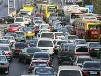 特權車和公務車滿街跑 北京交通塞很大