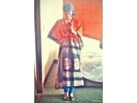 王菲穿印度裝朝聖 活像道姑