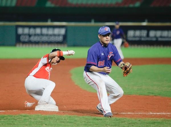 亚运颜色/林瀚成型三垒中华队内野移防 ETto韩国女生棒球短发图片