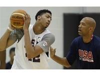 NBA/美國隊傷PG、少KD 戴維斯:每個人都該跳出來