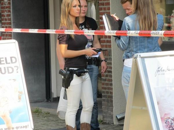荷蘭,女警,正妹,網友