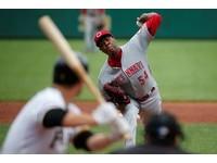 MLB/紅人查普曼恐怖均速161 可望成大聯盟史上第一