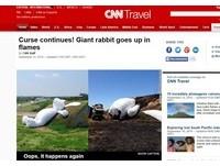 月兔變烤兔 CNN調侃霍夫曼「歐!又來了」作品連環爆