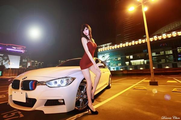 林茉晶,小豆花妹,宅男,OL,車模,洋裝