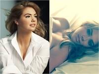 超模凱特阿普頓第2波裸照曝光 薄內褲露陰解放D奶