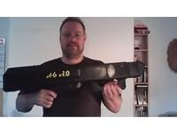3D列印新境界 德男打造世界第一全自動「紙飛機」手槍