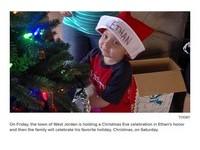 小鎮5天內過完萬聖節、聖誕節 全為4歲癌末男童