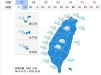 熱!台北近35度 創今年最高溫