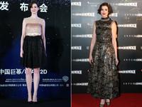 《星際效應》上海首映會=安海瑟薇禮服時尚秀