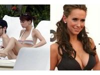 拒當「無奶人」 好萊塢女星瘋隆乳