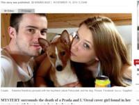 2小狗作伴死 26歲捷克「Prada女模」離奇暴斃浴缸