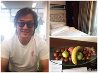 真的火大了! 王偉忠住五星級「發霉」酒店送過期水果