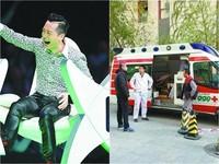 哈林錄節目外頭救護車守候 歌迷恐慌問:舊疾復發?