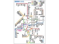 「轉乘站」放大更好懂 來看日本人繪製台北捷運路線圖