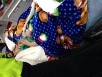外配懷頭胎未產檢急產 新板警消趕到家接生一女嬰