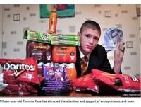 英15歲高中生賣零食遭停學 嘆:我是在賺大學學費...