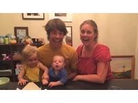 假借拍照喊「1、2、3」 外國男大喊:我妻子懷孕了