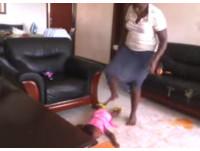 烏干達「超暴力」虐童褓姆 全世界踹共