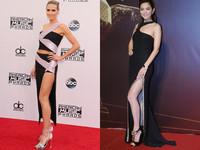 凡賽斯禮服開高衩 海蒂克隆、Ella大露美人腿
