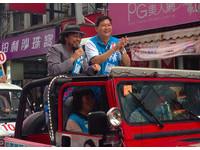 張菲掃街替林國春助選 高喊:天王來了,絕不是山寨的